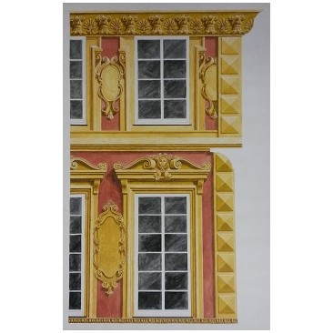 Arte sui Muri  Facciate liguridecorazioni facciate esternedecorazione per ...