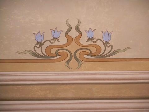 Arte sui muri restauro decorazione genova soffitto dipinto facciate decorate chiaroscuro - Decorazioni sui muri ...