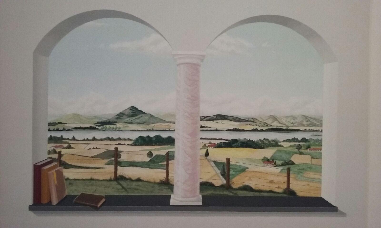 Disegni Sui Muri Di Casa arte sui muri | trompe d'oeil liguria | disegni su muro
