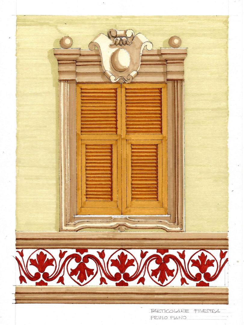 Arte sui muri facciate liguri decorazioni facciate - Decorazioni per muri ...